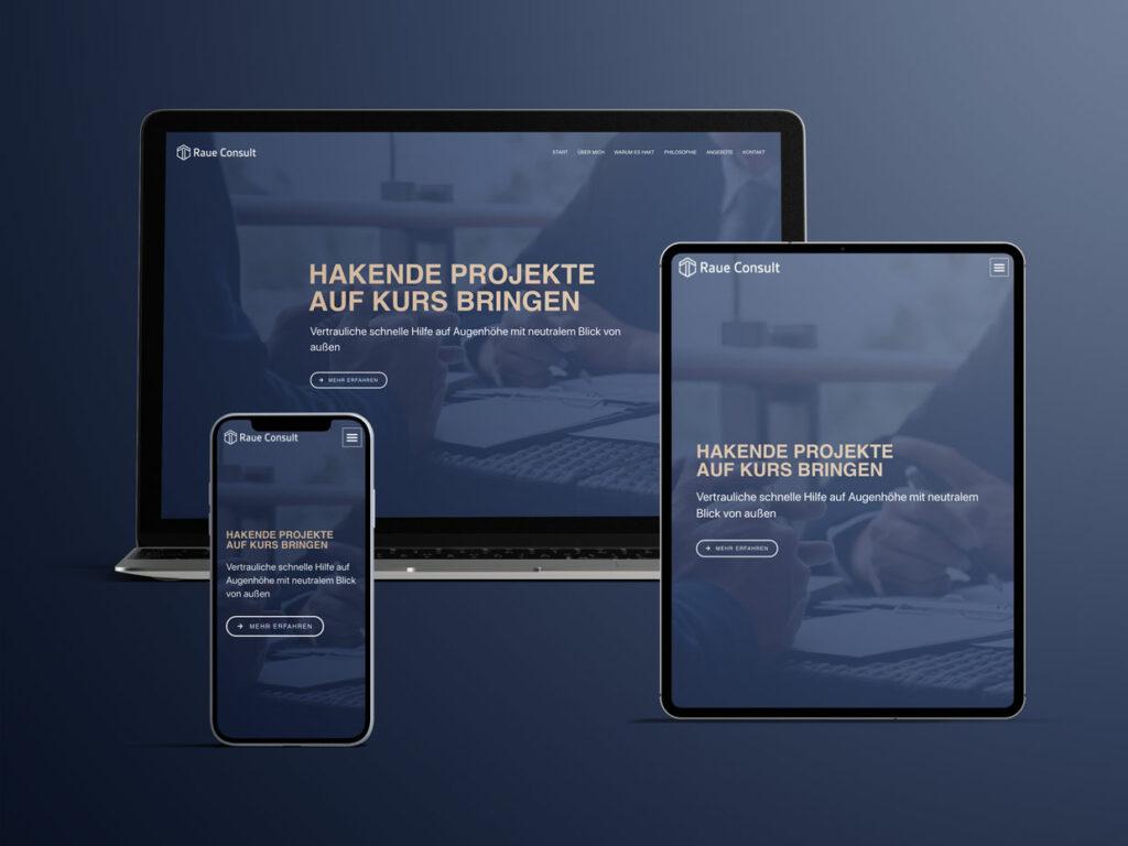 Webdesign Raue Consult