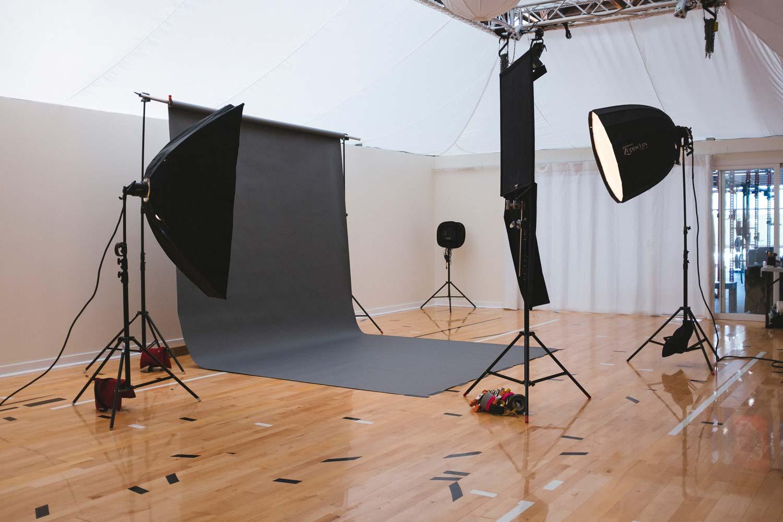 Werbefotografie, Fotostudio