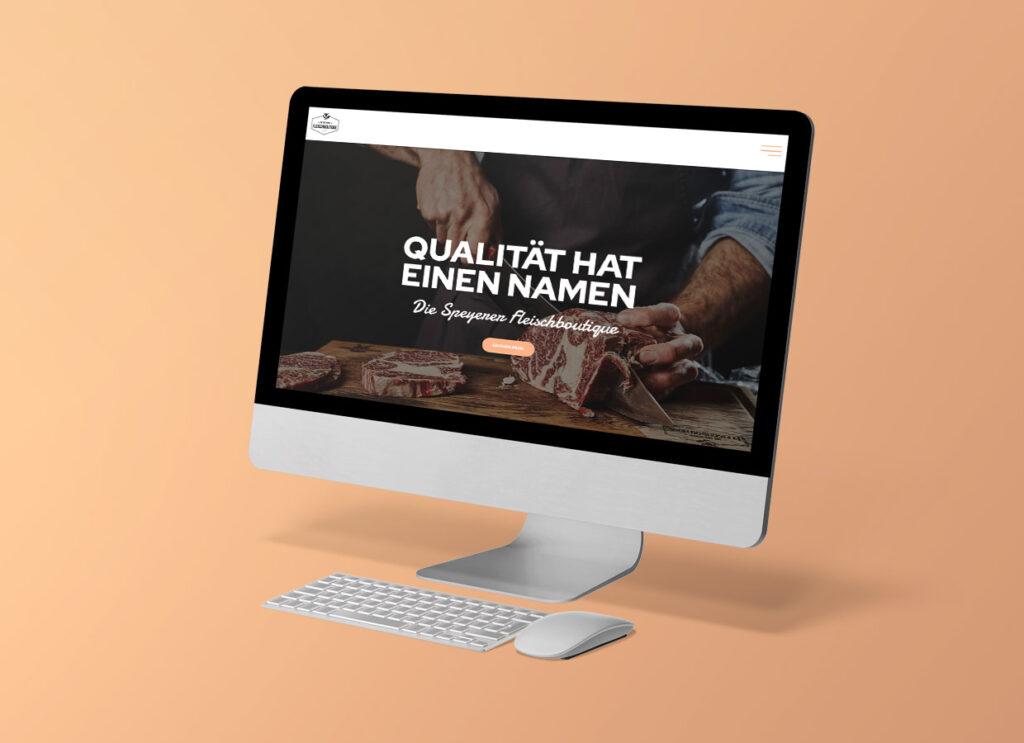 Webdesign die Speyerer Fleischboutique