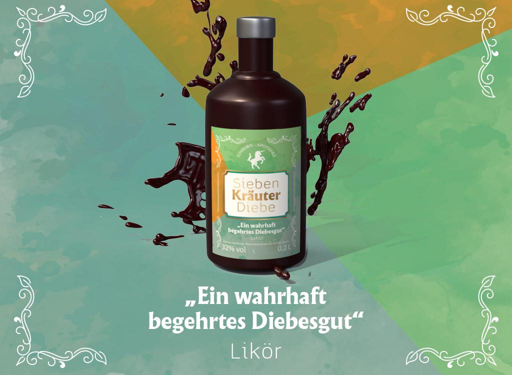 Einhorn Apotheke Speyer, Etikettendesign
